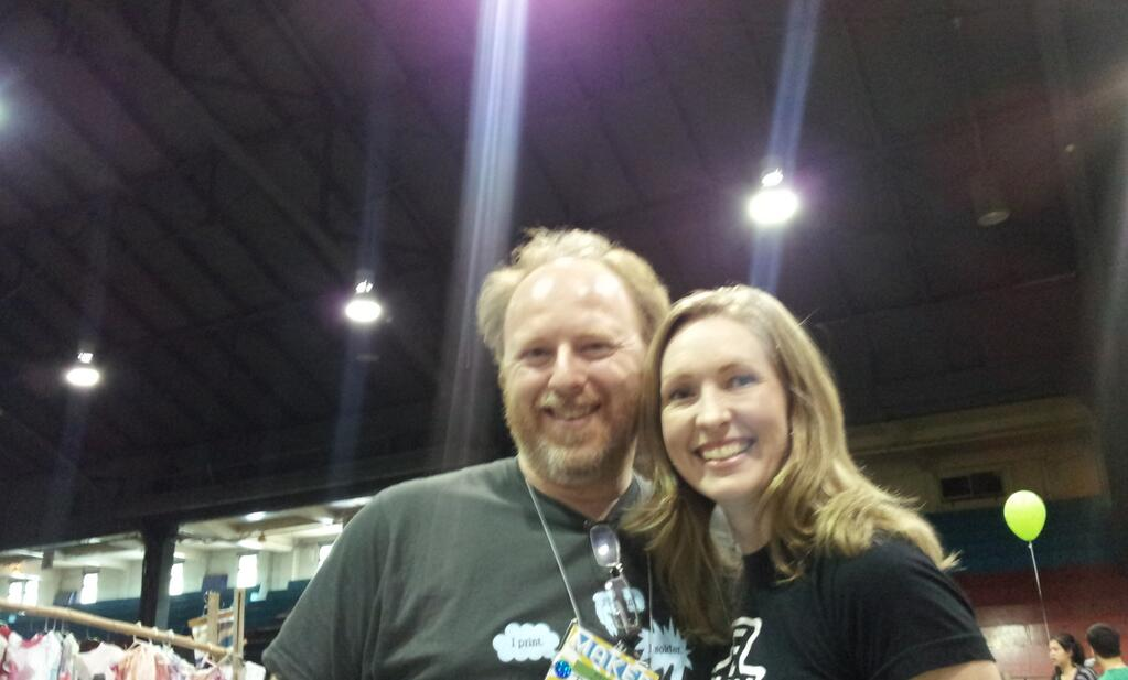 Me and Dethe at Maker Faire Vancouver